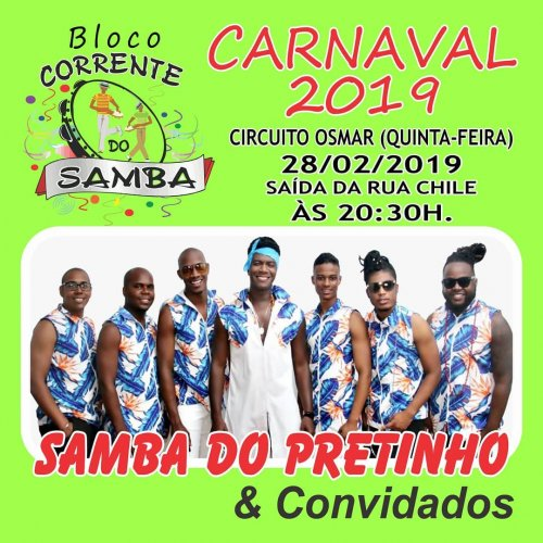[Bloco Corrente do Samba]