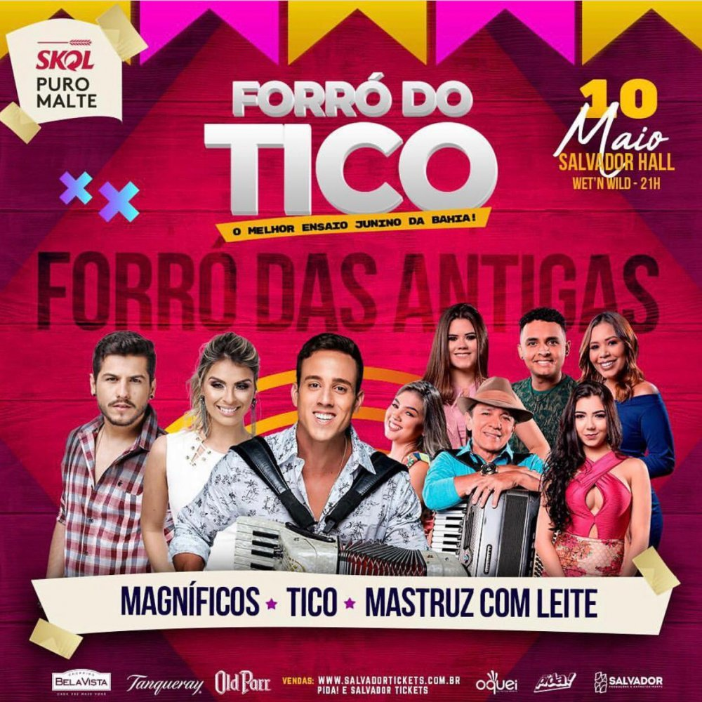 [Forró do Tico - O maior ensaio de São João da Bahia.]