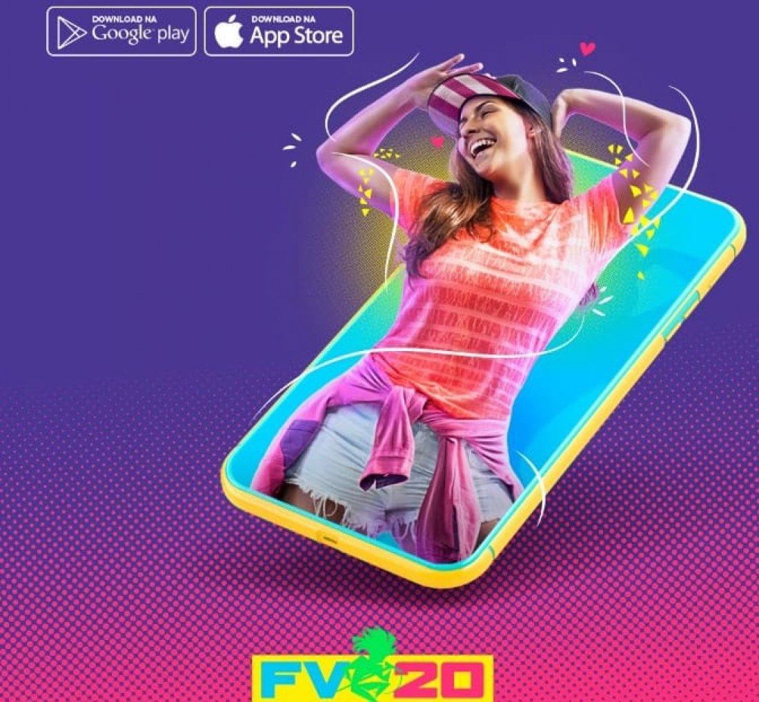 Resultado de imagem para Festival de Verão lança aplicativo para celular