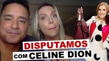 [Carla Perez e Xanddy disputaram bolsa com Celine Dion]