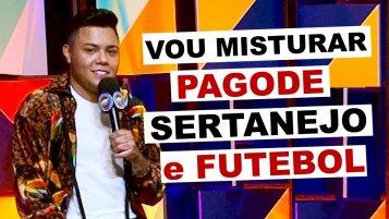 [Felipe Araújo fala sobre projeto que envolve pagode, sertanejo e craques futebol]